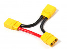 XT90 батареи жгута проводов 10AWG для 2-х пачек в серии