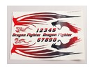 Dragon Fighter Decal Лист Большой 445mmx300mm
