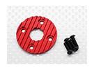 Алюминиевый CNC Мотор теплоотвод плиты 36мм (красный)