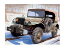 Italeri 1/35 шкала Dodge WC штабная машина 56 пластиковые модели Kit