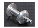 Алюминиевый винт Horns M4x24mm (5шт / комплект)