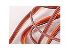 Плоский 26AWG серво провод 1mtr (R / O / B)