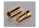 Polymax 5.5mm Gold Разъемы 10 пар (20pc)