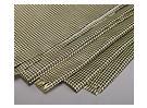 3K углеродного волокна и кевлара 29-ткань (180г / м2) 2 листов - 1000мм х 500мм