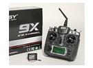 Turnigy 9X 9CH передатчик ж / модуль и 8-канальный приемник (режим 1) (v2 Firmware)