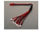 2 Pin 6 х Пико штепсельной вилки Charging Set Eflite совместимы.