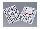 Самоклеющиеся Decal Sheet - Prodrive 1/10 Scale (2pc)