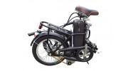 Electric Folding Bike Folded view
