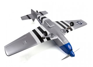 H-King Mustang P-51D underneath