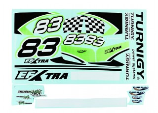 Durafly® ™ EFXtra - Sticker Set (Green)