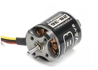 PROPDRIVE v2 2836 1000KV Brushless Outrunner Motor mounting holes