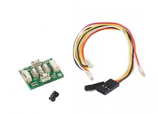 Turnigy HS1177 V2 1/3 Sony Color HAD II CCD Camera for FPV (NTSC) - OSD