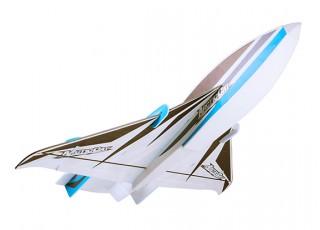 H-King Arctic Cat Water Plane - Glue-N-Go - Foamboard PP 820mm Blue (Kit) - bottom
