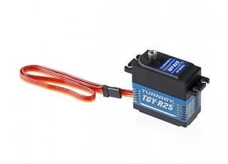 Turnigy TGY-R25 HV High Torque Metal Gear Digital Servo 25kg / 0.10sec / 60g with lead