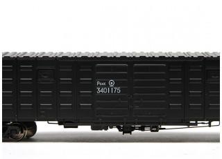 P64K Box Car (Ho Scale - 4 Pack) (Black Set 3) 1