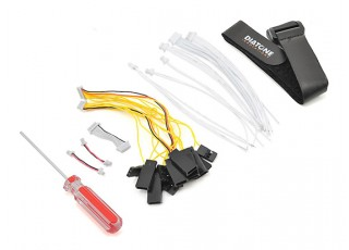 Diatone Tyrant 215 FPV Racing Drone - Black (ARF) - accessories 2