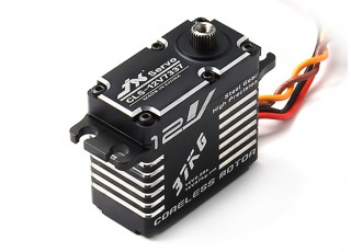 JX CLS-12V7337 High Voltage High Speed Coreless Metal Gear Servo 37.5kg/0.08sec/73g
