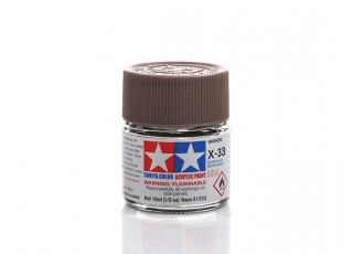 Tamiya X-33 Gloss Bronze Mini Acrylic Paint (10ml)