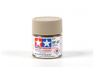 Tamiya XF-57 Flat Buff Acrylic Paint (10ml)