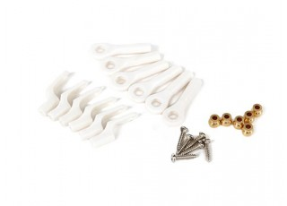 Brass Ball Links and Snap-Click Clevis for Avios Planes (6 sets)