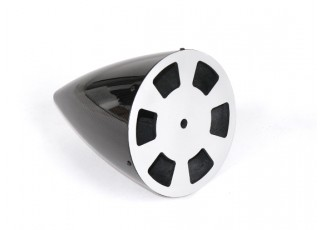 6 Inch Carbon Fiber Spinner with Aluminium Backplate - bottom
