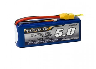 Turnigy Heavy Duty 5000mAh 3S 60C Lipo Pack w/XT-90