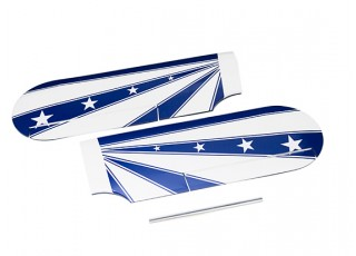 Kingcraft Pitts Special S-2B 1200mm Replacement L/R Upper Wing Set