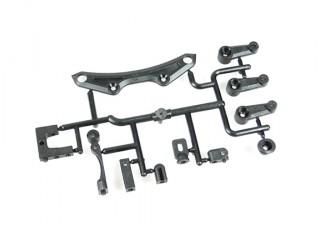 Turnigy TD10 V2 Touring Car - Front Upper Bumper and Servo Horn Set (1 Set) SAK-XS104