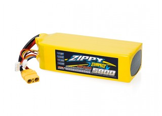 ZIPPY Compact 5800mAh 7S 25C Lipo Pack With XT90