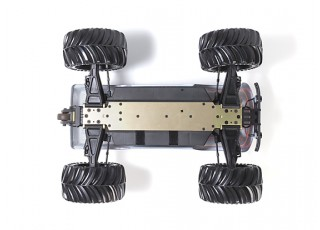 JLBRacing Cheetah 1/10 4WD Brushless Off-road Truggy (ARR) - bottom
