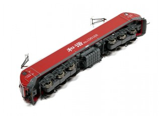 HXD1D Electric Locomotive Red HO Scale (DCC Equipped) No.2 6