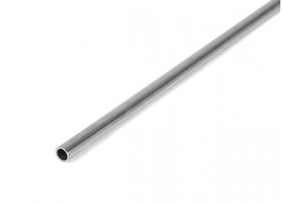 "K&S Precision Metals Aluminum Stock Tube 1/8"" OD x 0.014 x 36"" (Qty 1)"