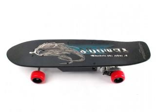 Street Style Electric Skateboard Side view