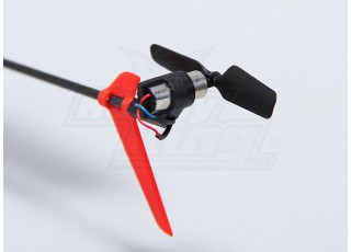 Solo PRO 100 3G Flybarless 3D Micro Helicopter tail rotor