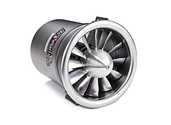 SCRATCH/DENT - Dr. Mad Thrust 90mm 12-Blade All Alloy EDF 1000kv Inrunner Motor-3500watt(8s) E1132