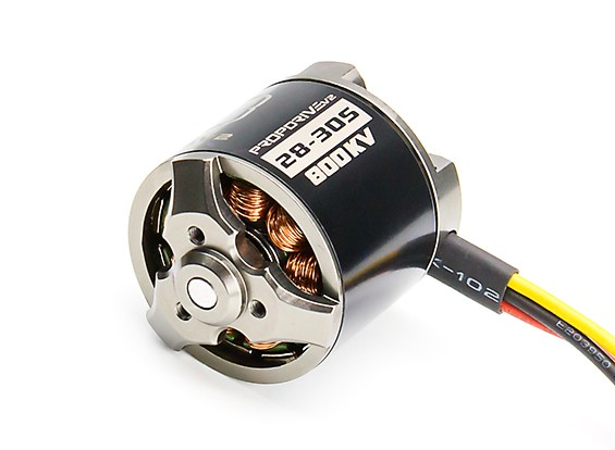 PROPDRIVE v2 2830 800KV Brushless Outrunner Motor (Short Shaft Version)