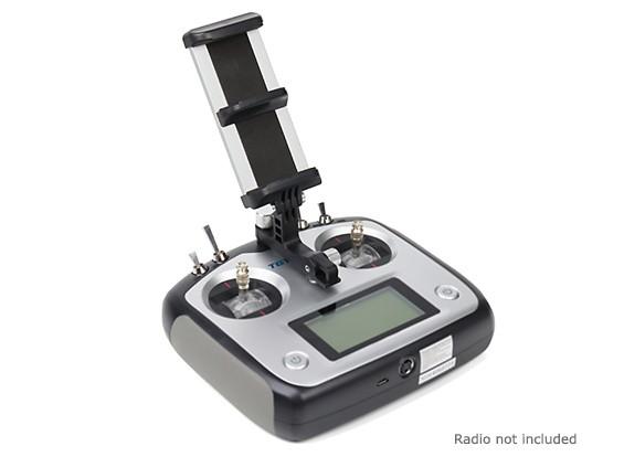 Turnigy I6S Smartphone/Tablet Mounting Bracket (Black)