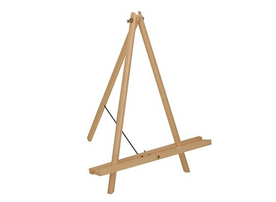 52cm Artists Pinewood Tabletop Tripod Easel