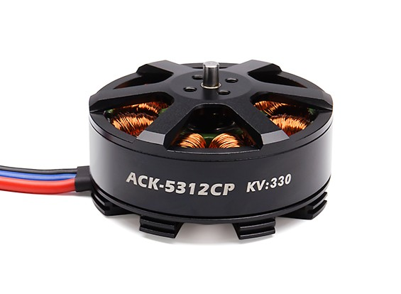 ACK-5312CP 330KV High Performance Brushless Multicopter Motor 6~8S (CCW)