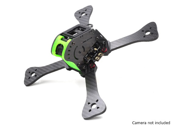 GEP-IX5 Fairy FPV Racing Drone Frame 200 (GREEN) (Kit) - Main View