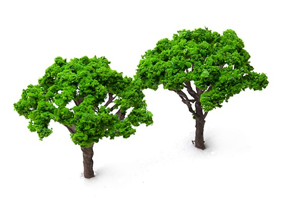 HobbyKing™ 100mm Scenic Wire Model Trees Y002-100 (2 pcs)