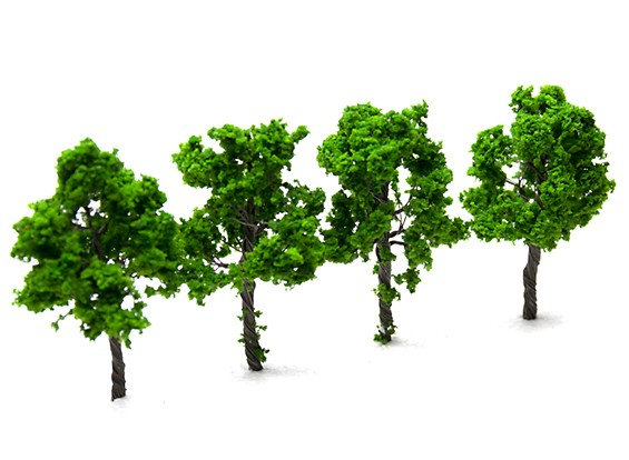 HobbyKing™ 73mm Scenic Wire Model Trees (4 pcs)