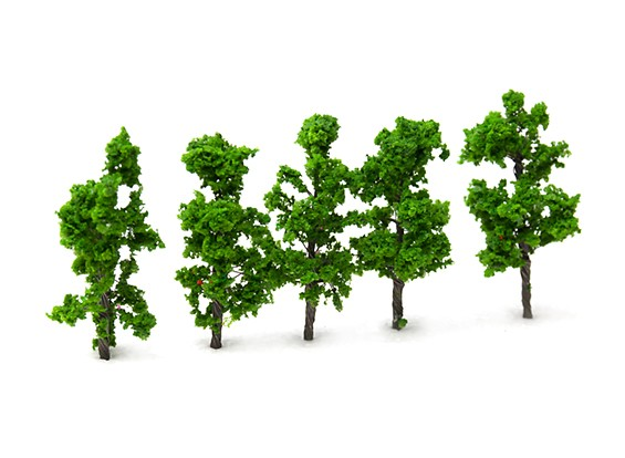 HobbyKing™ 65mm Scenic Wire Model Trees  (5 pcs)