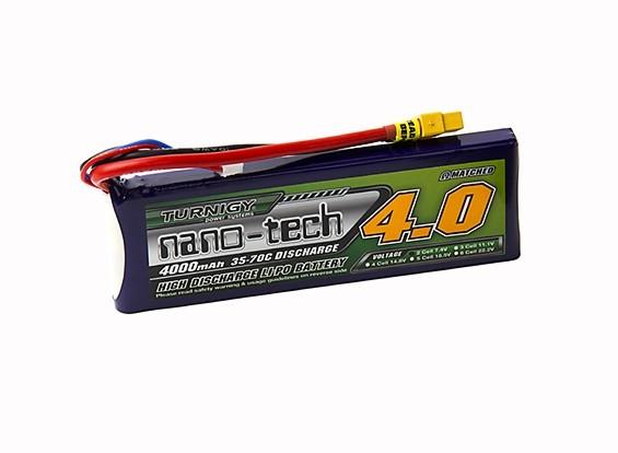 Turnigy nano-tech 4000mah 2S 35~70C Lipo Pack w/XT-60