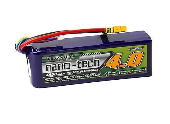 Turnigy nano-tech 4000mah 6S 35~70C Lipo Pack w/XT-60