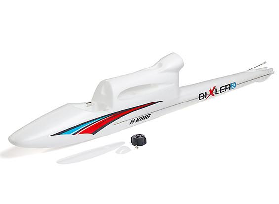 HobbyKing Bixler 2 EPO 1500mm - Replacement Fuselage (Blue/Red)