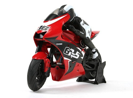 SCRATCH/DENT HobbyKing GR-5 1/5 EP Motorcycle with Gyro (ARR)