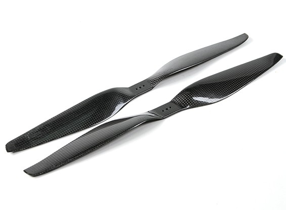 SCRATCH/DENT - Dynam 16x5.5 Carbon Fiber Propellers for Multirotors (CW and CCW) (1pair)