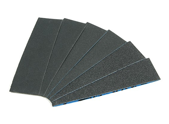 "Zona 1 1/2"" Wide Assorted Sanding Strip Pack for Finger Sander"