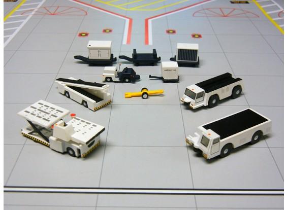 Gemini Jets Airport Support Equipment 10 piece set 1:200 G2APS451